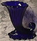 Heisey Warwick Stiegel Blue Vase