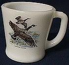 Fire King Game Bird Canada Goose Mug