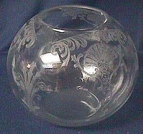 Cambridge Firenze Crystal Ball Vase