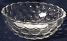Fire King Bubble Crystal Fruit Bowl