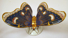 Art Deco Porcelain Butterfly by Schwarza