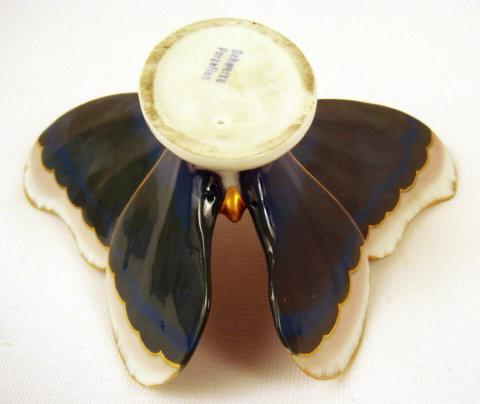 Art Deco Porcelain Butterfly by Schwarza