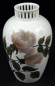 Rosenthal Art Nouveau Vase with Roses