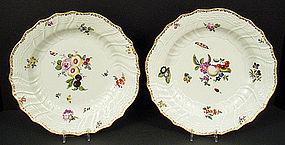 Antique Meissen Plates C. 1750