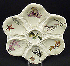 Antique Haviland & Co. Sea Life Oyster Plate