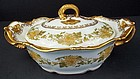 Antique Pouyat Limoges Covered Vegetable Dish