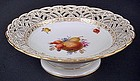 Antique Nouveau KPM Berlin Fruit Bowl