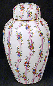 Antique Nymphenburg Covered Vase