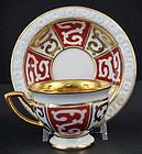 Antique Deco Rosenthal Demitasse Cabinet Cup & Saucer