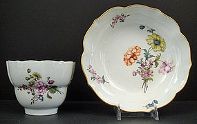 Meissen Tea Bowl & Saucer c. 1750