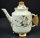 Antique Continental Porcelain, Japanesque Tea Pot