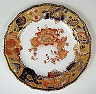 Antique Crown Derby Imari Cabinet Plate