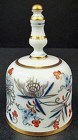 Antique Meissen Blue Onion Dinner Bell