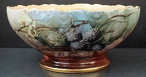 Antique T&V Limoges Fruit Bowl