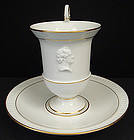 Classic Meissen Chocolate Cup & Saucer