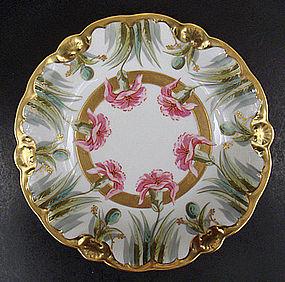 Lovely Antique Art Nouveau Limoges Bowl