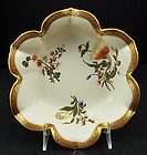Fine Antique Royal Worcester Flower Shaped Bowl