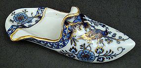 Antique Meissen Persian Style Slipper