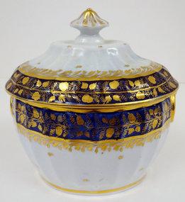 Rare Antique English Sugar Bowl, c. 1810