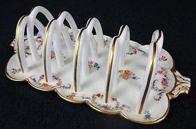 Delightful Antique Minton Porcelain Toast Rack