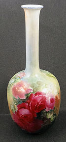 Lovely Antique Rosenthal Vase with Roses