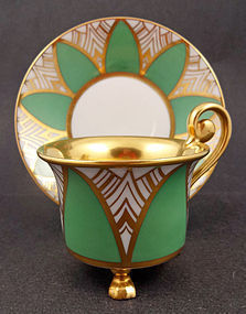Distinctive Art Deco Rosenthal Tea Cup & Saucer