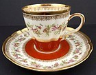 Antique Haviland Limoges Chocolate Cup & Saucer