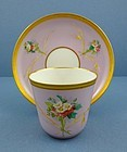 Fragile Antique Paris Tea Cup & Saucer