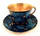 Antique Doulton Burslem Art Nouveau Demitasse Cup & Saucer