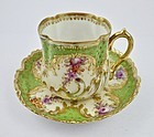 Antique Lamm Dresden Tea Cup & Saucer