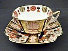 Antique Copeland & Sons Imari Tea Cup & Saucer