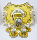 Donath Dresden Coffee Service on Tray