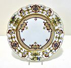 Rare KPM Royal Berlin Jeweled Cabinet Plate