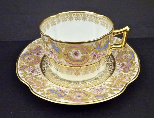 Exquisite Ernst Wallis Tea Cup & Saucer