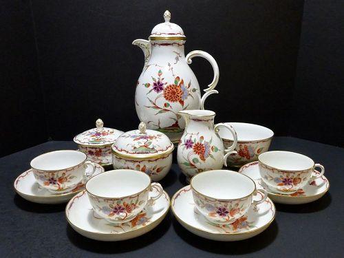 Antique Nymphenburg Kakiemon Tea Service
