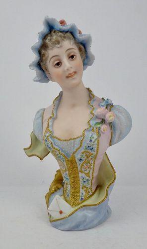 Antique Vion & Baury Bisque Figure