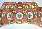 12 Antique Spode Copelands Service Plates Jeweled