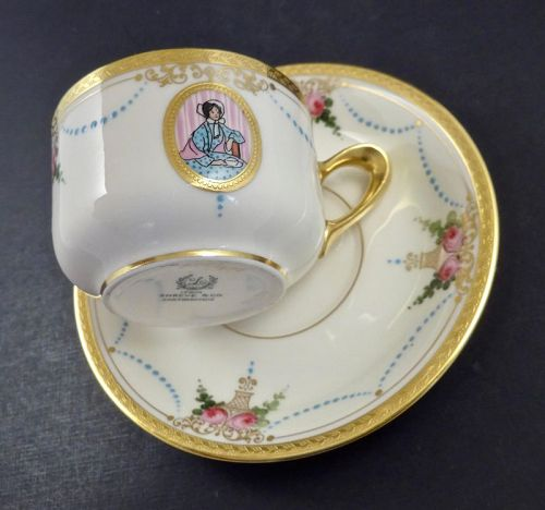 Antique Lenox Tea Cup & Saucer �Virginian�