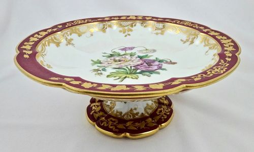Antique Sevres Dessert Stand or Tazza � (A)