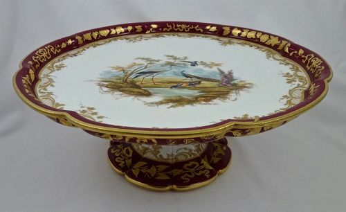 Antique Sevres  Dessert Stand or Tazza � (B)
