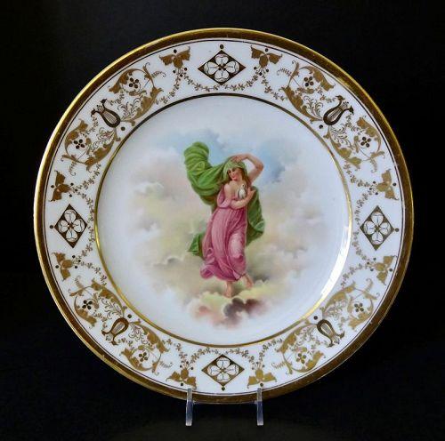 Antique Lamm Dresden Cabinet Plate