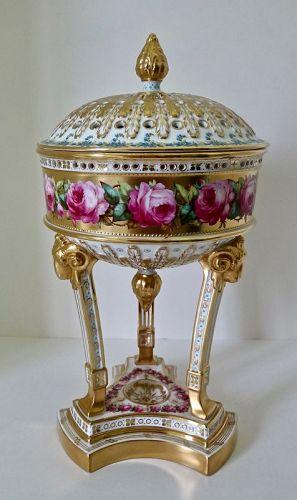 Antique Spode Copelands Potpourri Vase
