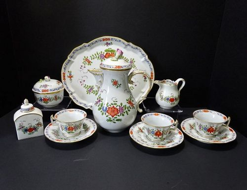 Meissen Coffee /Dessert Service for 6