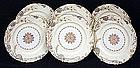 6 Wonderful Antique Haviland Limoges Plates