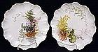 Pair  of Doulton Burslem Art Nouveau Plates