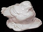 Blanc de Chine Augarten Sparrow Chick