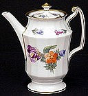 Lovely Royal Copenhagen Floral Coffee Pot
