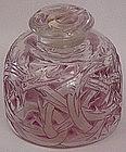 Art Deco Lavender R Lalique Perfume Bottle
