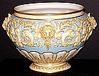 Grand Royal Worcester Jardinière with Lions� Heads