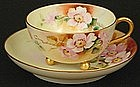 Charming Pickard-Like  Tea Cup and Saucer
